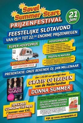 Slotavond Savel Summer Prijzenfestival Leerdam